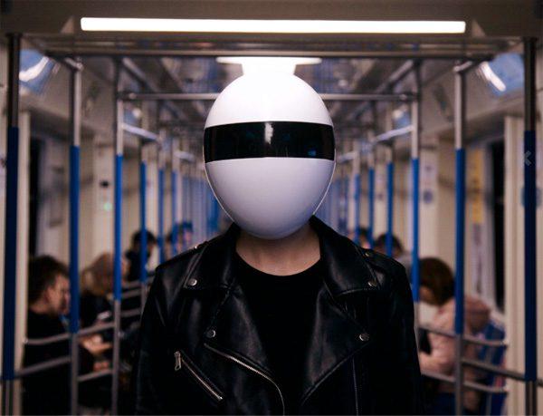Blanc: een gezichtsmasker met de looks van Daft Punk