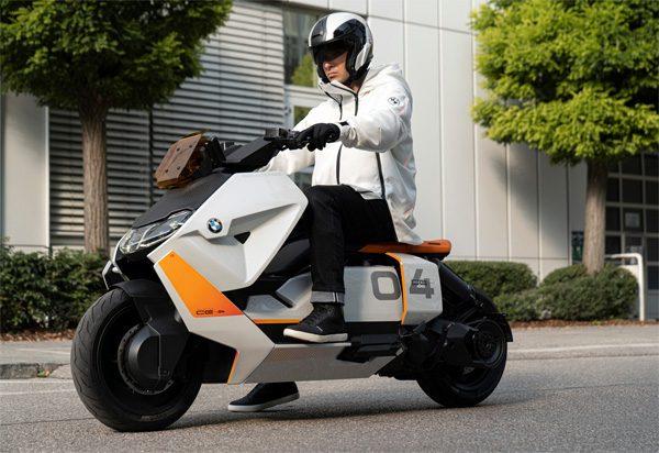 Deze elektrische scooter van BMW is spoedig verkrijgbaar