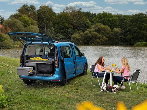 De nieuwe Volkswagen Caddy California is een betaalbare kampeerwagen