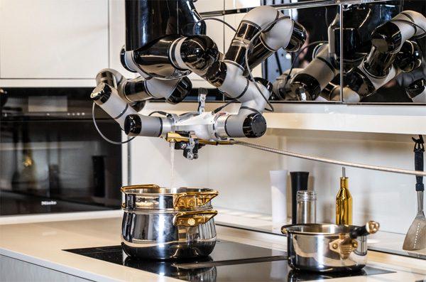 Moley Robotics lanceert een robot die kookt en afwast