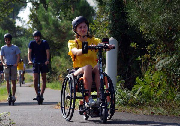 Globetrotter: een elektrische scooter voor rolstoelrijders