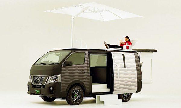 Nissan Office Pod: een mobiel kantoor
