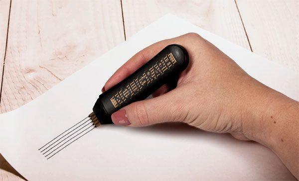 Noligraph: de perfecte pen voor muzikanten