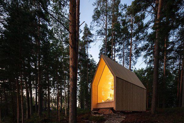 Kynttilä: een duurzaam mini-huisje om in tot rust te komen