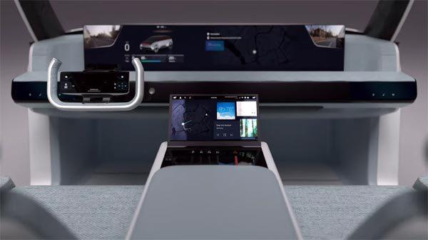 Digital Cockpit van Samsung: een auto vol met schermen