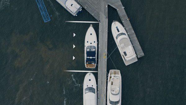 Volvo's Assisted Docking maakt het aanmeren van een boot kinderspel