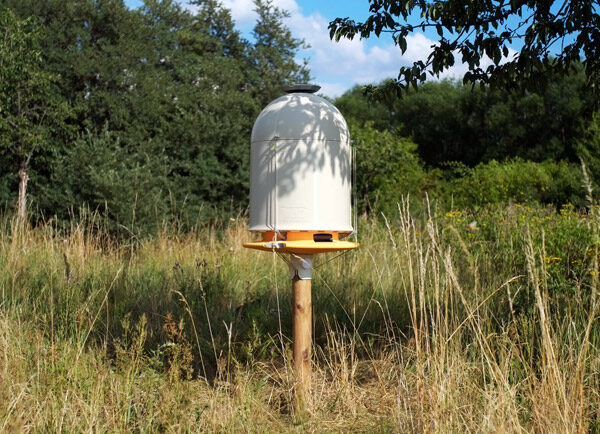 Hiive: een geavanceerde bijenkorf gemaakt met een 3D-printer