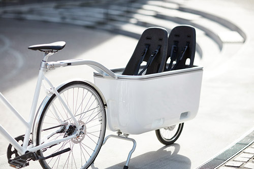 Ein: een elektrische aanhangwagen voor je fiets