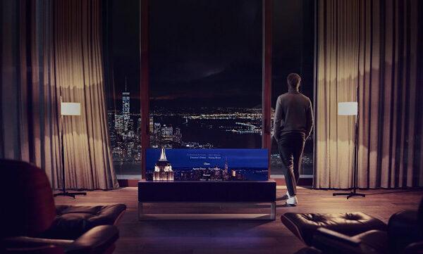 De oprolbare LG Signature OLED R televisie is een technologisch hoogstandje