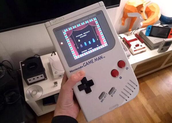 Game Man: wanneer de Game Boy groot wordt