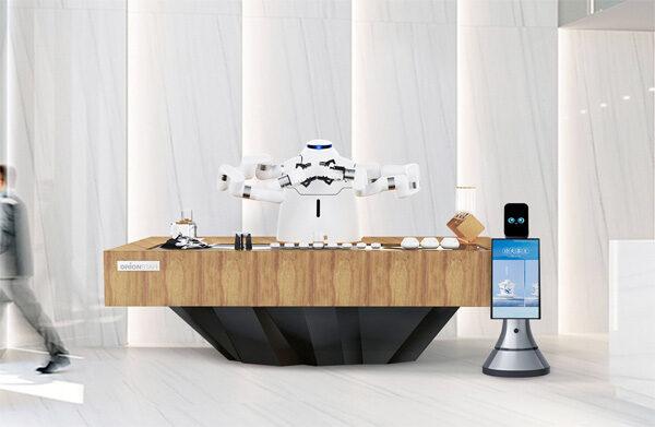 Zhi Ka Master: een Chinese robotbarista