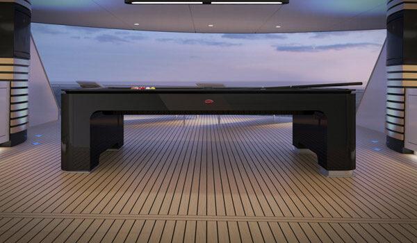 Autofabrikant Bugatti lanceert een pooltafel van 300.000 dollar