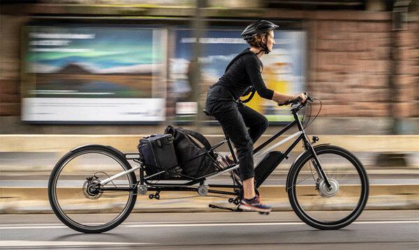 Convercycle: een fiets die transformeert tot transportfiets