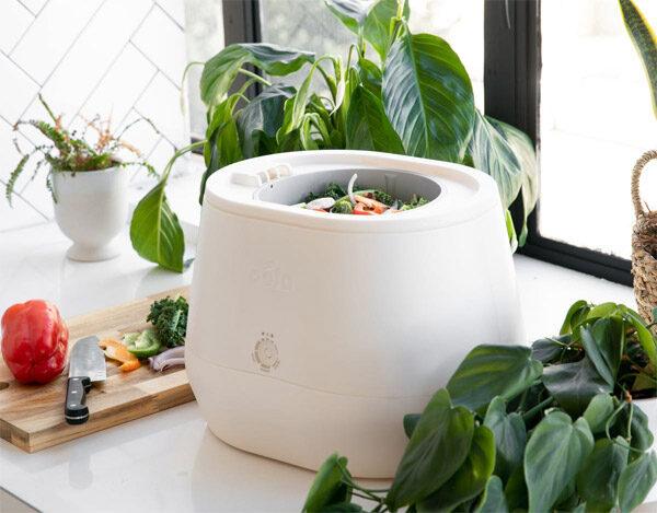 Lomi: een apparaat voor in de keuken dat compost maakt