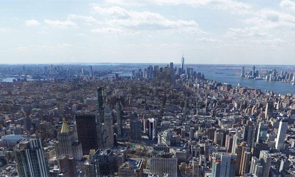 Grootste foto van New York bestaat uit 80.000 megapixels