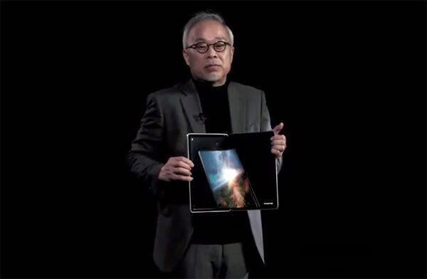 Samsungs nieuwe flexibele schermen: 17 inch en dubbel opvouwbaar