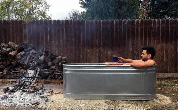 Zo bouw jij een eigen hottub in je achtertuin