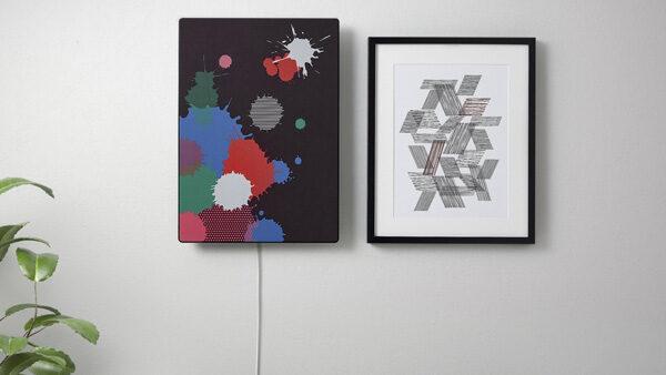 IKEA lanceert met Sonos speakers die als kunstwerken aan de muur hangen