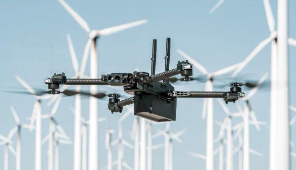 Skydio-drone maakt zelfstandig 3D-scans en 3D-modellen van de omgeving