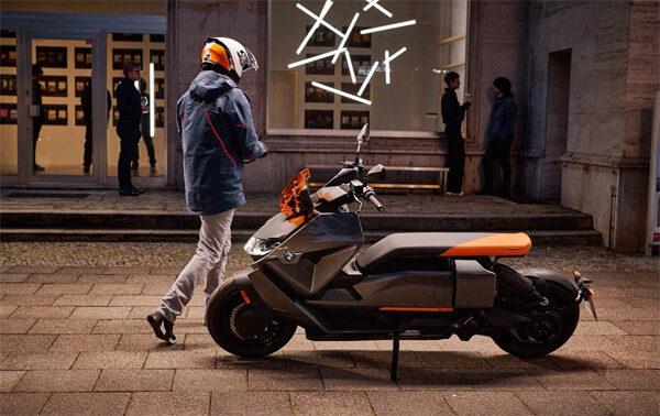 BMW CE 04: een indrukwekkende elektrische motor