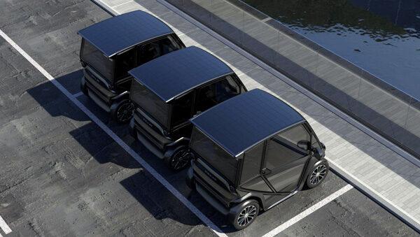 Squad: een Nederlandse mini-auto die rijdt op zonne-energie