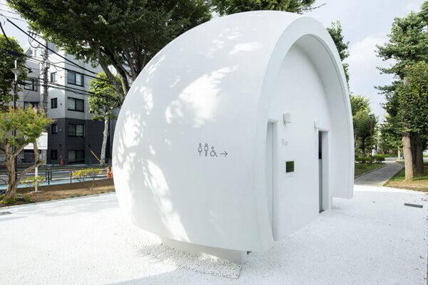 Deze openbare toilet in Japan bedien je met je stem
